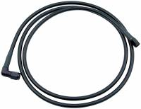 "Brake Hoses - #4 Braided Steel Hose - Straight -4AN / 90 Degree Ends - Allstar Performance - Allstar Performance #4 Coated Braided Line -4 AN Straight / -4 AN 90 Degree - 48"" Long"