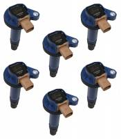 Ignition & Electrical System - Accel - Accel Coil - Ford 3.5L V6 EcoBoost 6pk - Blue