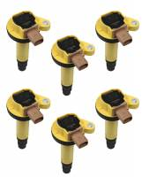 Ignition & Electrical System - Accel - Accel Coil - Ford 3.5L V6 EcoBoost 6pk - Yellow