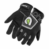 Crew Apparel - Alpha Gloves - Alpha Gloves The Standard - Black - 3X-Large