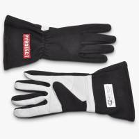 Kids Race Gear - Kids Racing Gloves - Pyrotect - Pyrotect Sport Series Two Layer Driving Gloves - Black