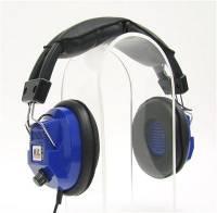 Scanners & Accessories - Scanner Headphones - Racing Electronics - Racing Electronics RE-34 Stereo Scanner Headphones - Blue