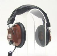 Scanners & Accessories - Scanner Headphones - Racing Electronics - Racing Electronics RE-34 Stereo Scanner Headphones - Brown