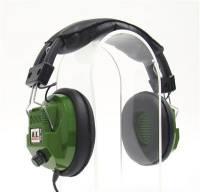 Scanners & Accessories - Scanner Headphones - Racing Electronics - Racing Electronics RE-34 Stereo Scanner Headphones - Green