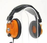 Scanners & Accessories - Scanner Headphones - Racing Electronics - Racing Electronics RE-34 Stereo Scanner Headphones - Orange