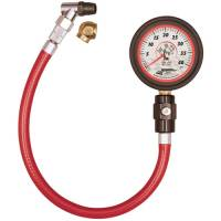 "HOLIDAY SAVINGS DEALS! - Longacre Racing Products - Longacre Deluxe Tire Gauge 0-40 PSI 2.5"" Glow in the Dark"