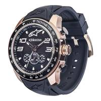 Crew Apparel - Watches - Alpinestars - Alpinestars Tech Watch Chrono Two Tones - Rose/Black/Steel