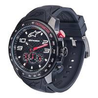 Crew Apparel - Watches - Alpinestars - Alpinestars Tech Watch Chrono Black - Black/Black