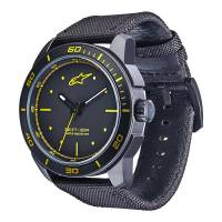 Crew Apparel - Watches - Alpinestars - Alpinestars Tech Watch 3H Black - Black/Yellow