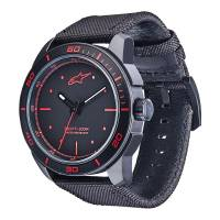Crew Apparel - Watches - Alpinestars - Alpinestars Tech Watch 3H Black - Black/Red
