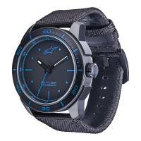 Crew Apparel - Watches - Alpinestars - Alpinestars Tech Watch 3H Black - Black/Blue