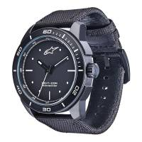 Crew Apparel - Watches - Alpinestars - Alpinestars Tech Watch 3H Black - Black/White