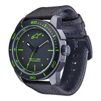 Crew Apparel - Watches - Alpinestars - Alpinestars Tech Watch 3H Black - Black/Green