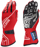 LABOR DAY SALE! - Racing Glove Sale - Sparco - Sparco Lap RG-5 Racing Gloves - Red - X-Large / Euro 12