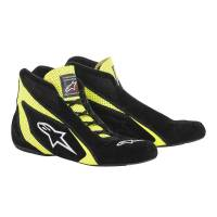 Racing Shoes - Alpinestars Racing Shoes - Alpinestars - Alpinestars SP Shoe - Black / Yellow