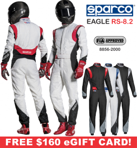 Racing Suits - Sparco Racing Suits - Sparco Eagle RS-8.2 Suit - $1598.99
