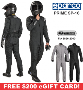 Racing Suits - Sparco Racing Suits - Sparco Prime SP-16 Suit - $1999.99