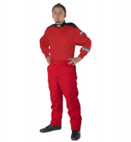 Youth Racing Suits - G-Force GF125 Racing Suit 2-pc - $129.98 - G-Force Racing Gear - G-Force GF125 Pyrovatex Racing Pant (Only) - Red
