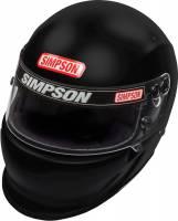 Simpson Helmets - Simpson Vudo EV1 Helmet - $869.95 - Simpson Race Products - Simpson Vudo EV1 Helmet - Black