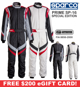 Racing Suits - Sparco Racing Suits - Sparco Prime SP-16 Special Edition Suit - $2099.99