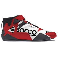 Safety Equipment - Sparco - Sparco Apex RB-7 Shoe - White / Red