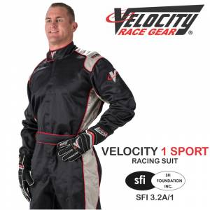 Racing Suits - Velocity Race Gear Race Suits - Velocity 1 Sport Suit - CLEARANCE $88.88