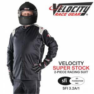 Racing Suits - Velocity Race Gear Race Suits - Velocity Super Stock 2-Piece Race Suit - CLEARANCE $129.98