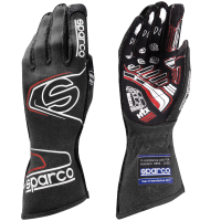 LABOR DAY SALE! - Racing Glove Sale - Sparco - Sparco Arrow RG-7 EVO Glove - Black/Red - Small / Euro 09