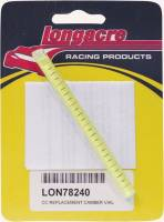 Caster/Camber Gauges and Components - Caster/Camber Gauge Bubble Vials - Longacre Racing Products - Longacre Replacement Camber Vial