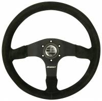 "Steering Wheels - Aluminum Competition Steering Wheels - Impact - Impact Stelvio Steering Wheel - 13.75"" - 1.75"" Dish - Black"