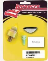 "Gauges and Data Acquisition - Longacre Racing Products - Longacre 4 psi Fuel Pressure 1/8"" NPT Sender"