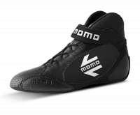 Safety Equipment - Momo - Momo GT PRO Racing Shoes - Black - Euro 43 - US 9/9.5