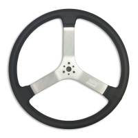 "Competition Steering Wheels - Aluminum - 17"" Aluminum Steering Wheels - MPI - MPI Racer Dished Steering Wheel - 17"""