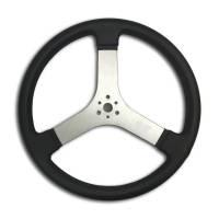 """Cockpit & Interior - MPI - MPI Racer Flat Steering Wheel - 16"""""""