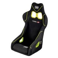 Seats and Components - OMP Seats - OMP Racing - OMP TRS-X Seat - Black/Fluo Yellow