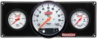 "Analog Gauge Panels - Gauge Panels w/ Tachometer - QuickCar Racing Products - QuickCar Extreme 2 Gauge Panel w/ 5"" Tach - OP/WT"