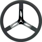 """Steering Components - QuickCar Racing Products - QuickCar Steel Steering Wheel - 17"""" - Black"""