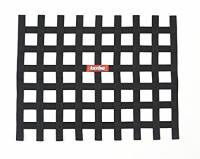 "Ribbon Window Nets - 18"" x 24"" Ribbon Window Nets - RaceQuip - RaceQuip Ribbon Window Net - Black - Non-SFI - 18"" x 24"""