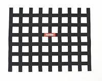 """Window Nets - Ribbon Window Nets - RaceQuip - RaceQuip Ribbon Window Net - Black - Non-SFI - 18"""" x 24"""""""