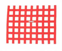 "Ribbon Window Nets - 18"" x 24"" Ribbon Window Nets - RaceQuip - RaceQuip Ribbon Window Net - Red - Non-SFI - 18"" x 24"""