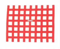 "Window Nets - Ribbon Window Nets - RaceQuip - RaceQuip Ribbon Window Net - Red - Non-SFI - 18"" x 24"""