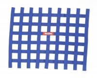 "Ribbon Window Nets - 18"" x 24"" Ribbon Window Nets - RaceQuip - RaceQuip Ribbon Window Net - Blue - Non-SFI - 18"" x 24"""