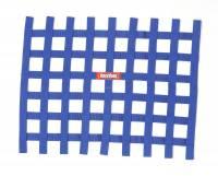 """Window Nets - Ribbon Window Nets - RaceQuip - RaceQuip Ribbon Window Net - Blue - Non-SFI - 18"""" x 24"""""""