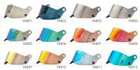 Helmet Shields and Parts - Stilo Shields & Accessories - Stilo - Stilo Visor Medium Red Iridium ST5