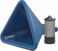 Fuel Management - Fuel Fill Funnels - VP Racing Fuels - VP Racing Fuels Multi-purpose Triangular Funnel With Filter