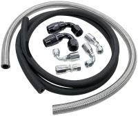Power Steering Hose & Fittings - Power Steering Hose Kits - Allstar Performance - Allstar Performance Power Steering Hose Kit