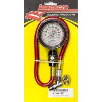 "HOLIDAY SAVINGS DEALS! - Longacre Racing Products - Longacre Deluxe Tire Gauge 0-100 PSI 2.5"" Glow in the Dark"