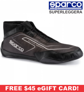 Racing Shoes - Sparco Racing Shoes - Sparco Superleggera RB-10.1 Shoe - $449.99