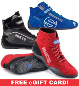 Safety Equipment - Racing Shoes - Sparco Racing Shoes