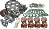 """Recently Added Products - Eagle Specialty Products - Eagle Specialty Products 357 CID Rotating Assembly Cast Crank Hypereutectic Pistons 3.480"""" Stroke - 4.040"""" Bore"""